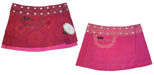 Moshiki Hot Cookie Bagel Corduroy short DE 34-42 Wickelrock wendbar