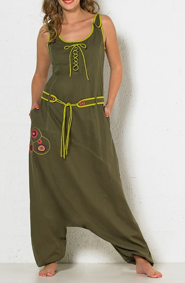 Coline Latzhose Haremshose Overall Jumpsuit S/M